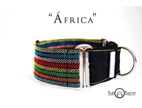 "Collar Martingale-Clic ""África"""
