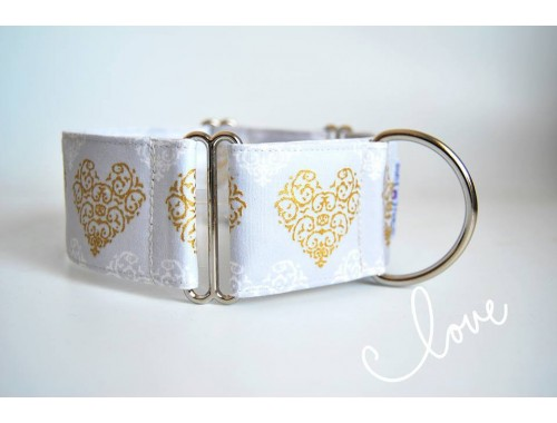 "Collar Martingale-clic ""Love"""