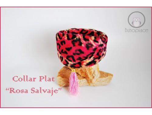 "Collar Martingale plat ""Salvaje"""