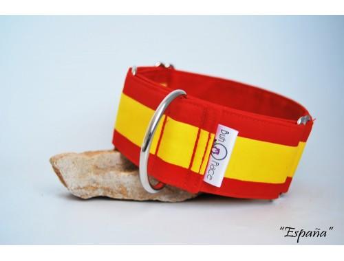 Collar Martingale-clic bandera de España