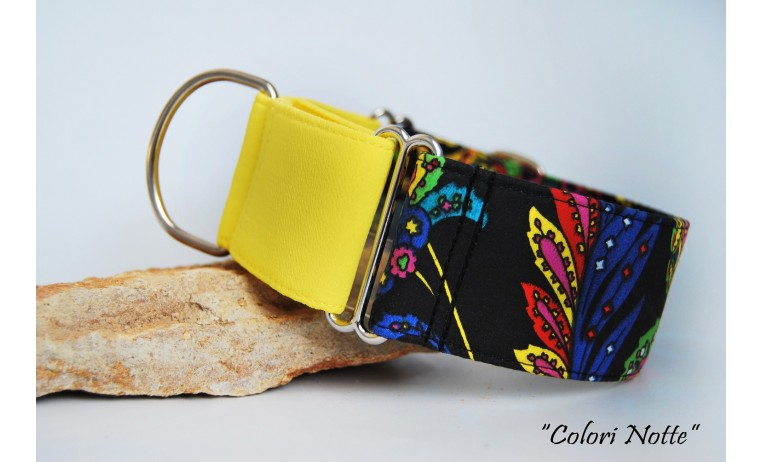 """Collar Martingale-Clic """"Colori Notte"""""""