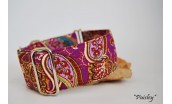 "Collar Martingale-Clic ""Paisley"""