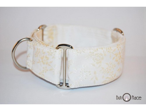 "Collar Martingale-Clic ""Golden Flower"""