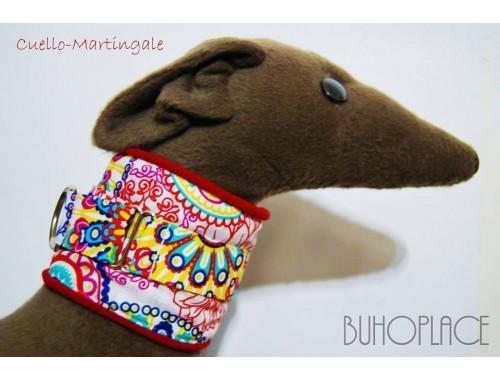 Collar Cuello - Martingale para galgos y podencos
